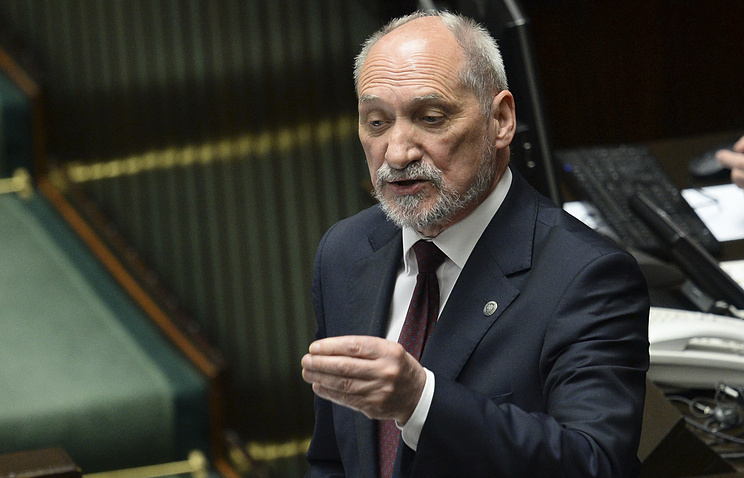 Министр обороны Польши Антоний Мачеревич