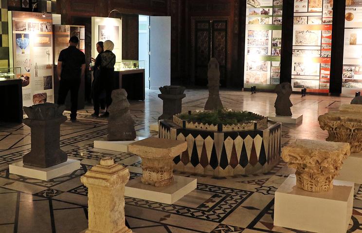 Национальный музей Дамаска снова открыли для посещения