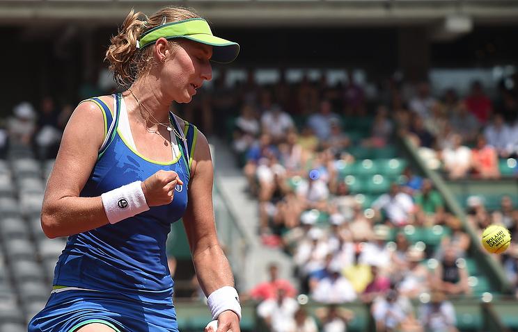 Теннисистка Макарова вышла вполуфинал турнира вВашингтоне после отказа Халеп