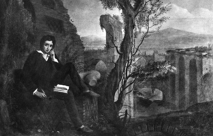Джозеф Северн. Перси Биши Шелли (1792 - 1822)