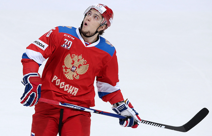 Хоккеист СКА Плотников провалил допинг-тест