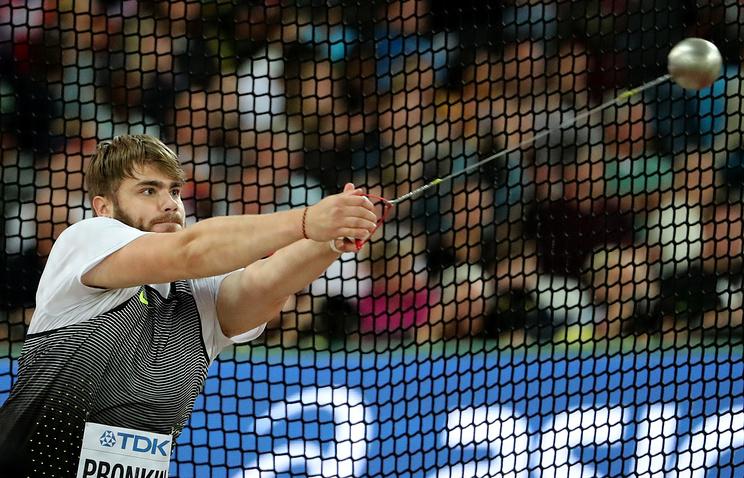 Метатель молота Назаров объявил, что дождь помог ему выйти вфиналЧМ