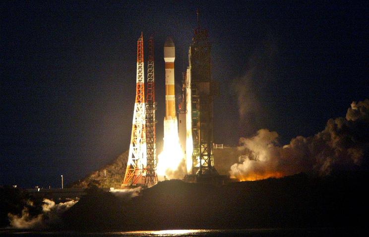 Запуск ракеты-носителя H-2A