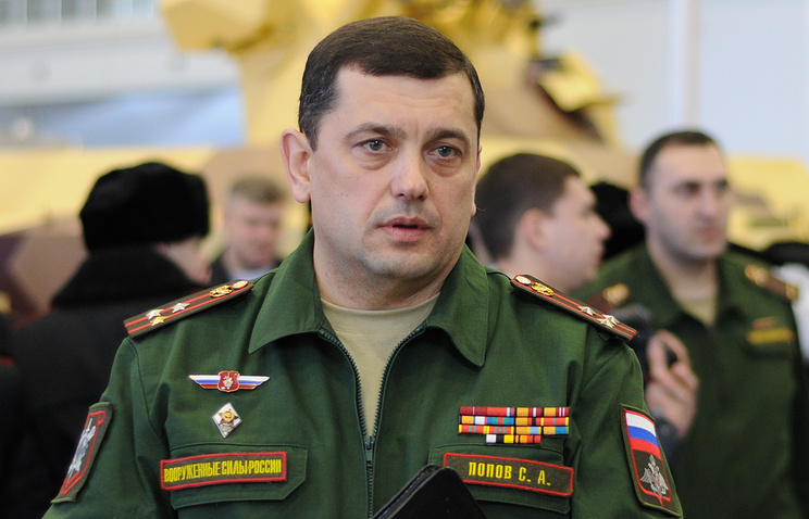 Начальник Главного научно-исследовательского испытательного центра робототехники МО РФ Сергей Попов