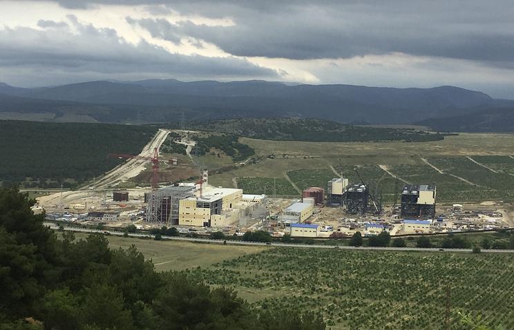 ЗапускТС вКрыму отложен на 2018-й год
