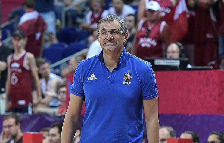 Начемпионате Европы побаскетболу мужская сборная Российской Федерации обыграла британцев