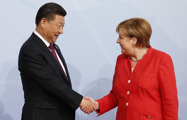 Меркель: Санкции сРФ будут сняты при условии мира вУкраинском государстве