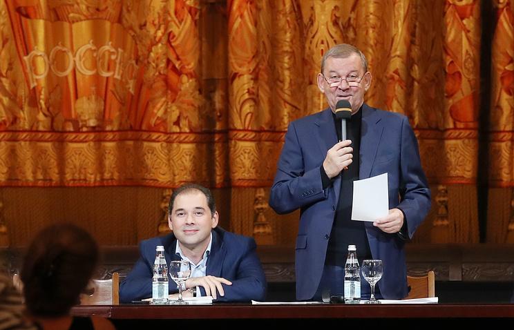 Музыкальный руководитель Большого театра Туган Сохиев и генеральный директор Большого театра Владимир Урин