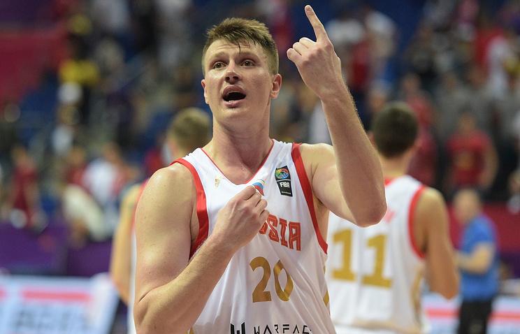 Баскетболист сборной России Андрей Воронцевич