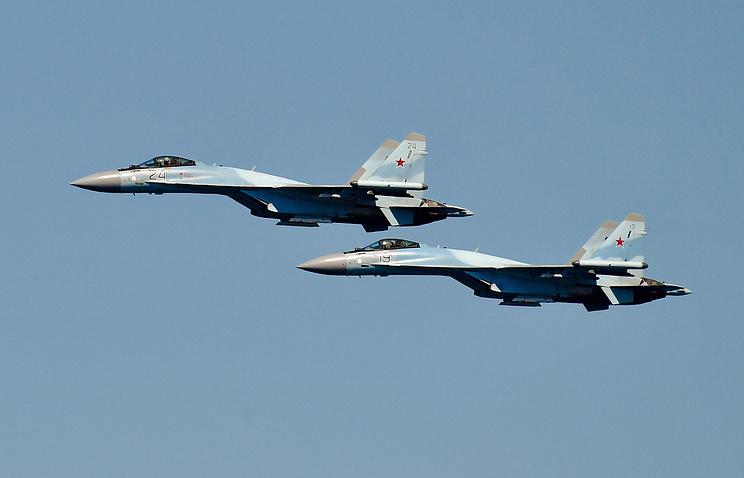 Истребитель Су-35С принят навооружение русской армией