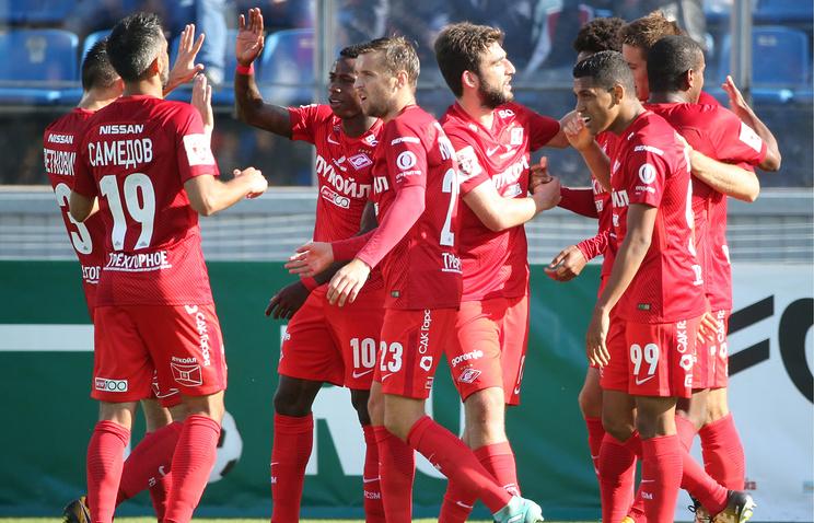 «Спартак» объявил стартовый состав наматч Кубка Российской Федерации с«Кубанью»