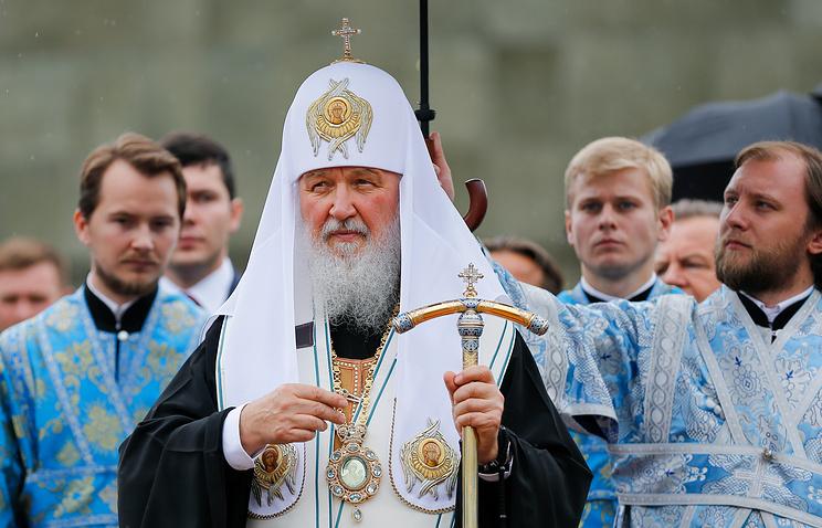 Патриарх Московский ивсея Руси прибыл вАстрахань