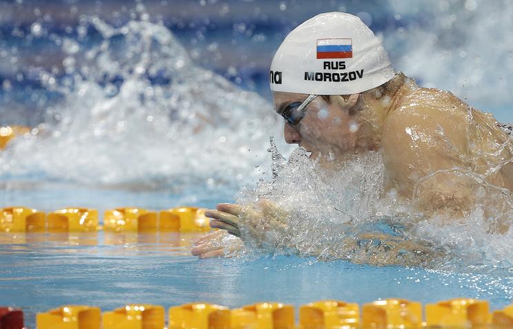 Русские пловцы завоевали три золота в 1-ый день этапа Кубка мира