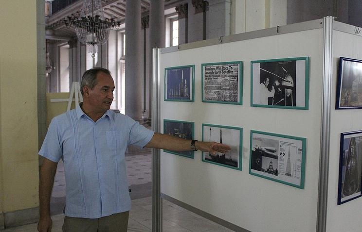 Приуроченная к первому спутнику Земли выставка открылась наКубе