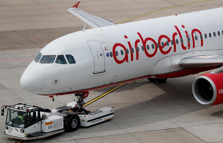 Обанкротившаяся Air Berlin уволит 1400 человек