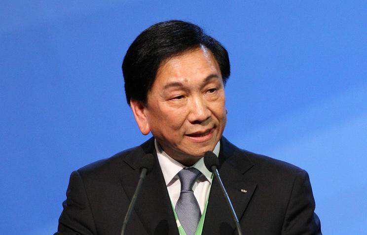 Президент AIBA Чинг-Куо Ву
