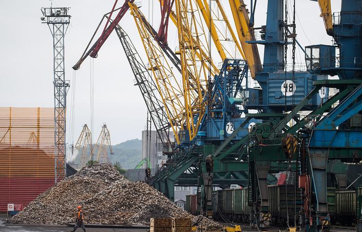 Грузооборот морских портов РФ  вянваре-сентябре увеличился на9% до580