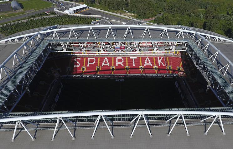 Стадион'Открытие Арена футбольного клуба'Спартак