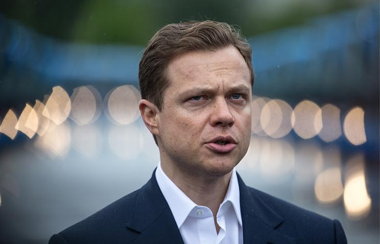 Руководитель департамента транспорта Москвы Максим Ликсутов
