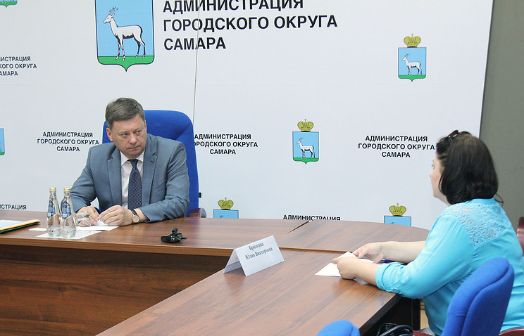 Глава Самары Олег Фурсов