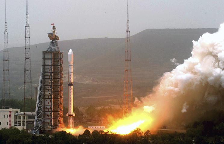 КНР вывел наорбиту метеорологический спутник «Фэнъюнь-3Д»