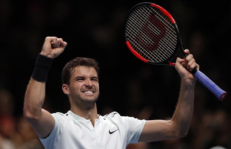Лондон (ATP). Димитров разгромил Гоффена ивышел вполуфинал турнира