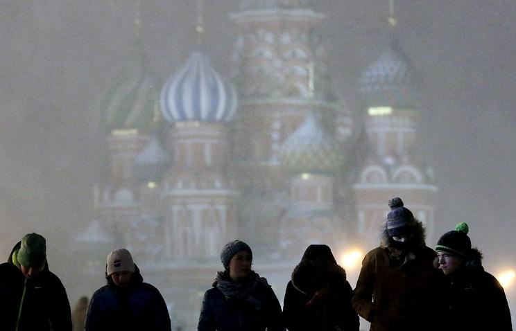 Сильная метель накроет столицу Российской Федерации вечером вначале рабочей недели