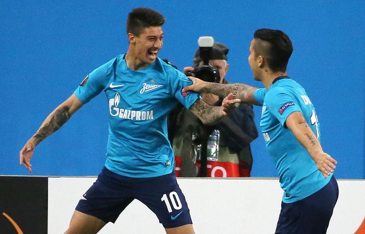 «Эвертон» готов платить 40 млн заигрока «Зенита»