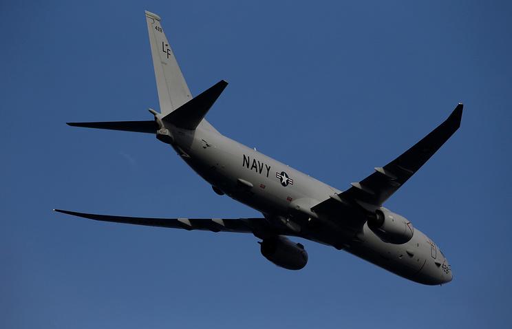 Разведывательный самолет ВМС США Poseidon