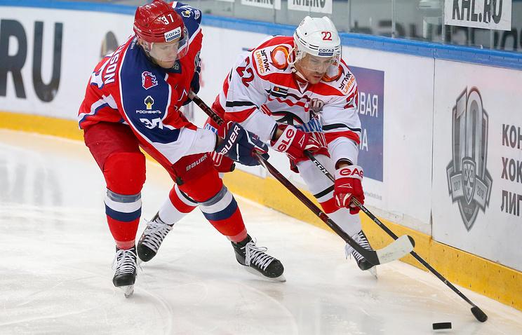 ЦСКА одержал седьмую победу подряд, обыграв «Автомобилист» вматче КХЛ