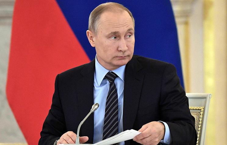 Путин объявил, что может потребоваться закон окриптовалютах