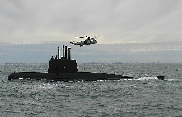Власти Аргентины сообщили, что поиски подлодки «Сан-Хуан» будут вестись бессрочно