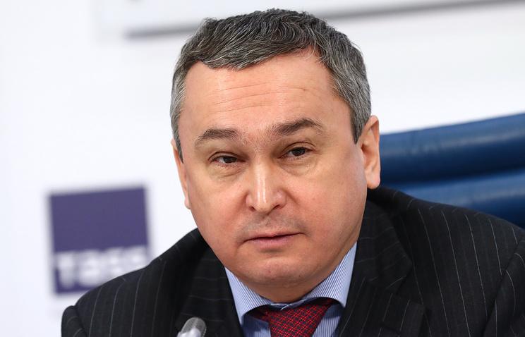 Заместитель министра культуры Олег Рыжков