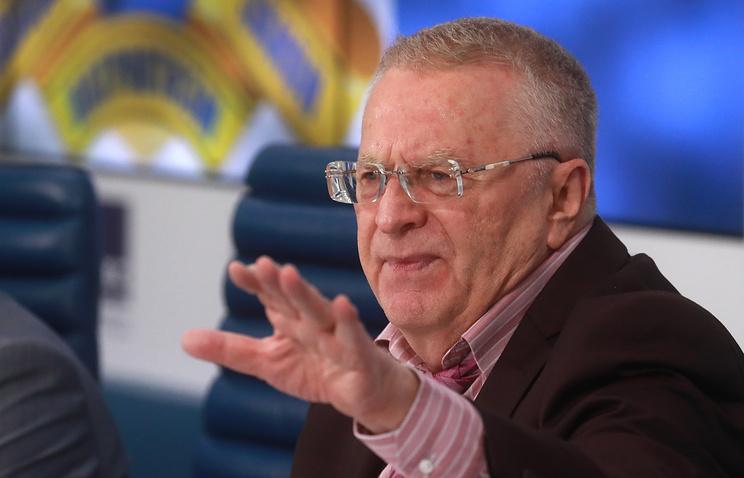 Председатель ЛДПР Владимир Жириновский