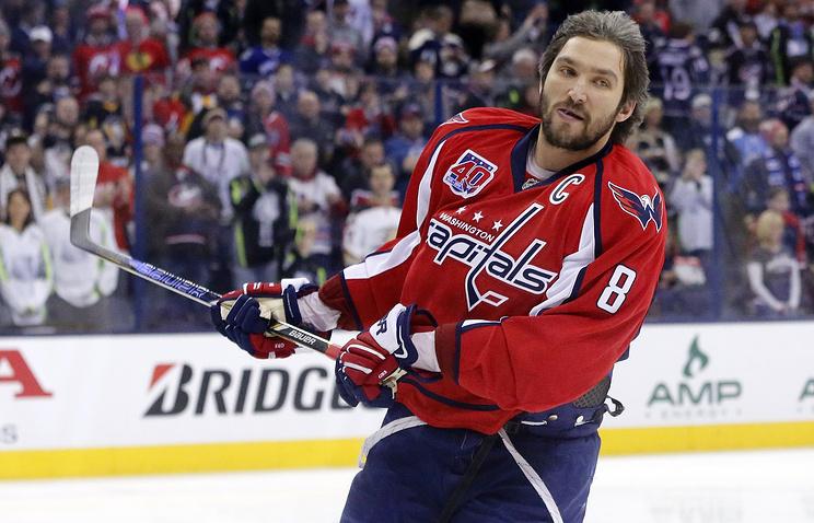 Овечкин одержал победу конкурс насилу броска вмастер-шоу Матча звезд НХЛ