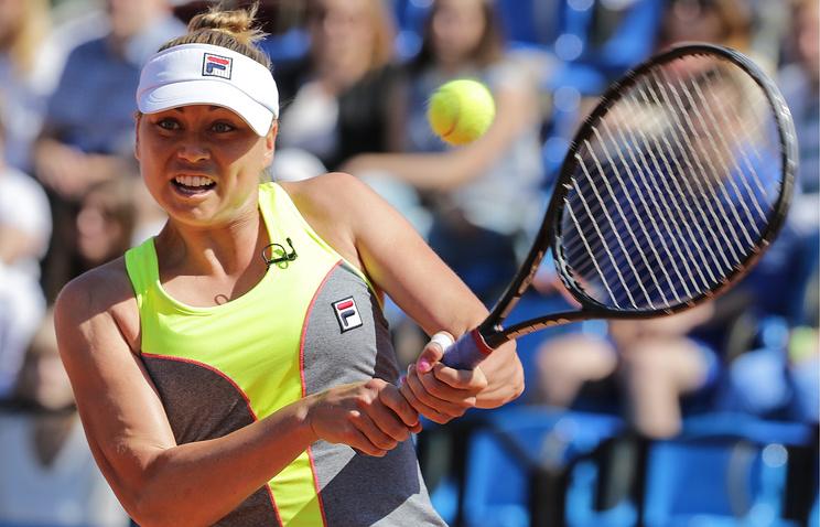 Звонарева несмогла выйти во 2-ой круг теннисного турнира в северной столице