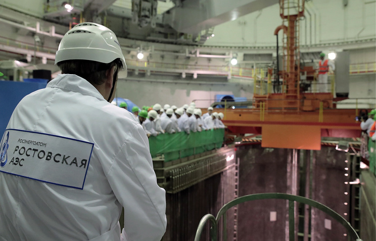 Путин дал старт работе нового энергоблока Ростовской АЭС