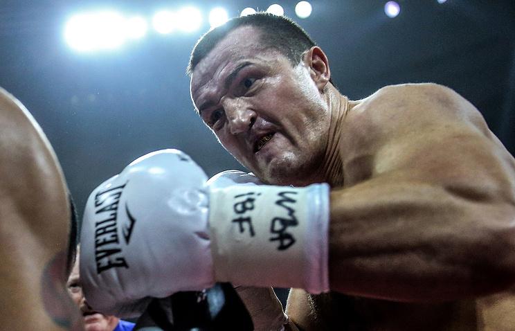 Житель россии Лебедев проведет бой спобедителем глобальной суперсерии бокса