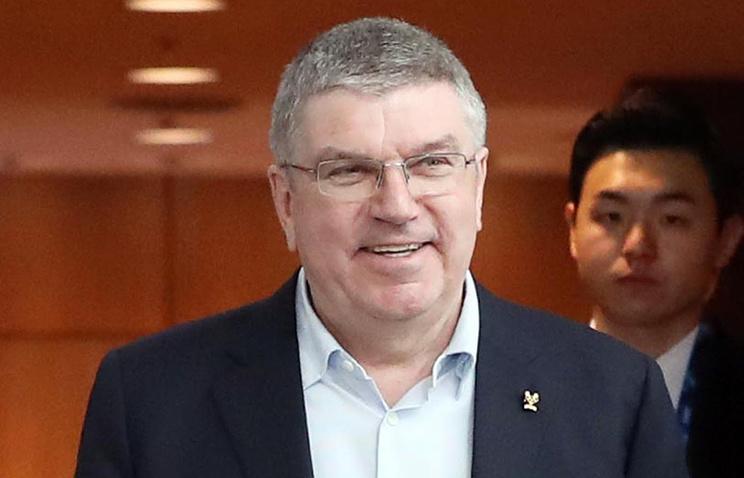 Глава МОК Томас Бах