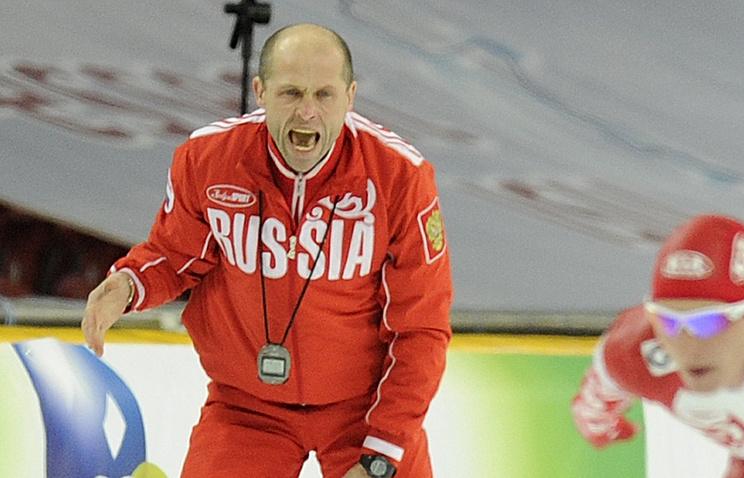 Тренер русских конькобежцев Полтавец покинет собственный пост