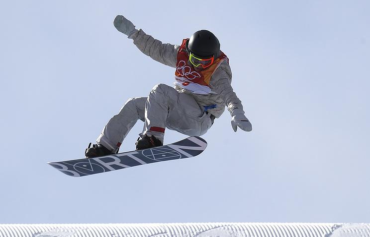 Золото Олимпиады вдисциплине «слоупстайл» досталось американскому сноубордисту