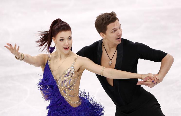 После короткого танца русские фигуристы занимают 3-е место вкомандном турниреОИ