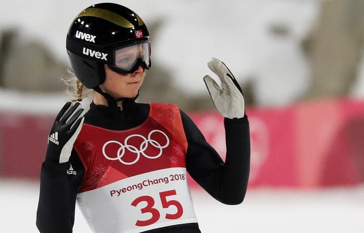 Прыгунья налыжах страмплина Аввакумова заняла 4-ое место наОИ