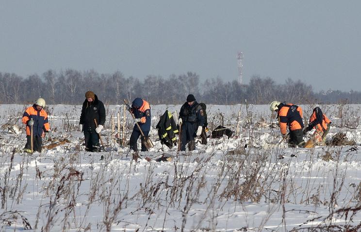 На месте крушения самолета Ан-148 в Подмосковье обнаружены двигатели лайнера