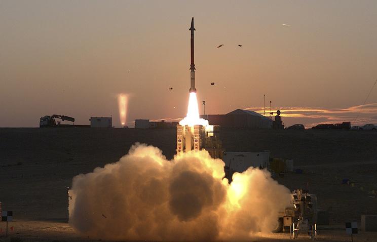 """Система ПРО для перехвата ракет малой и средней дальности David's Sling (""""Праща Давида"""")"""