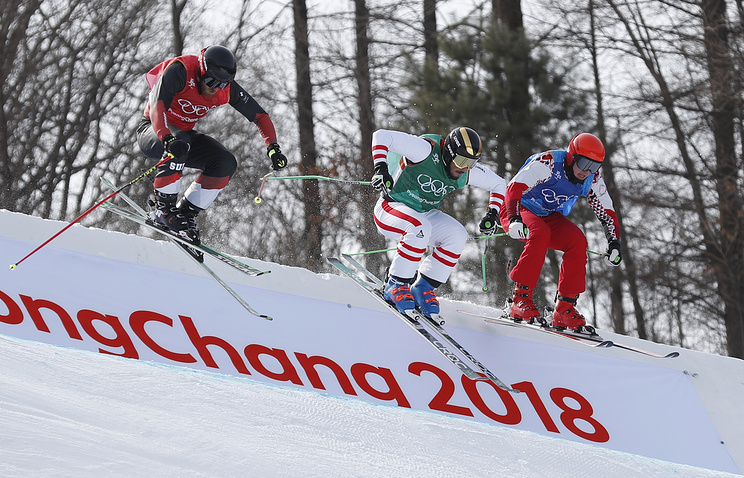 Житель россии Ридзик завоевал бронзу Олимпиады вски-кроссе