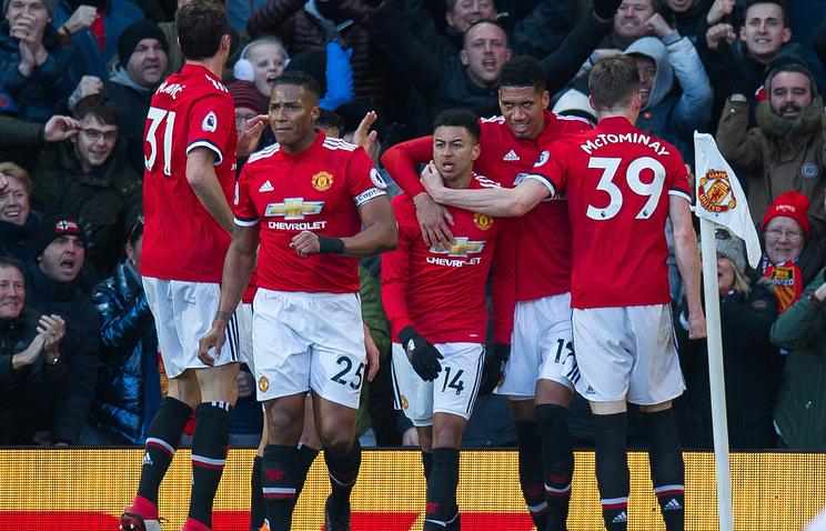 «Манчестер Юнайтед» обыграл «Челси» вматче чемпионата Британии