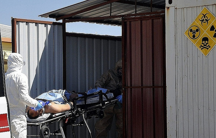 Боевики готовят хим. атаки вВосточной Гуте