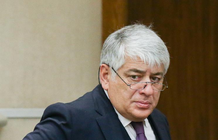 Глава комиссии Госдумы по вопросам депутатской этики Отари Аршба