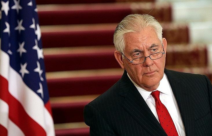 Государственный секретарь США Рекс Тиллерсон